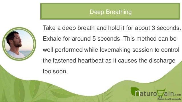 Natural Ways To Treat Premature Ejaculation