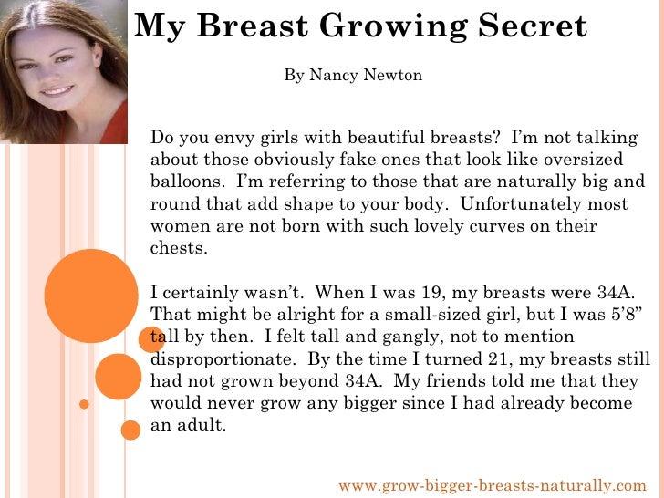My breast growth