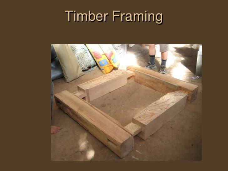 Natural Building Techniques : Natural building techniques