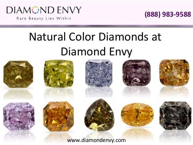 Natural Color Diamonds At Diamond Envy