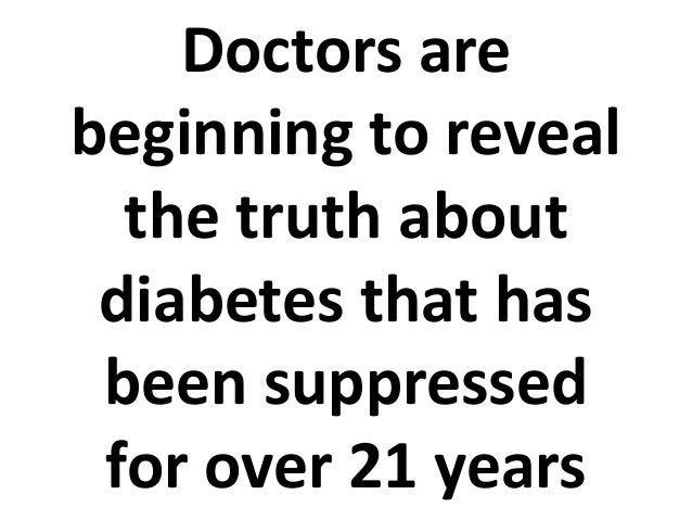 Natural Diabetes Treatment Works Better Than Prescription