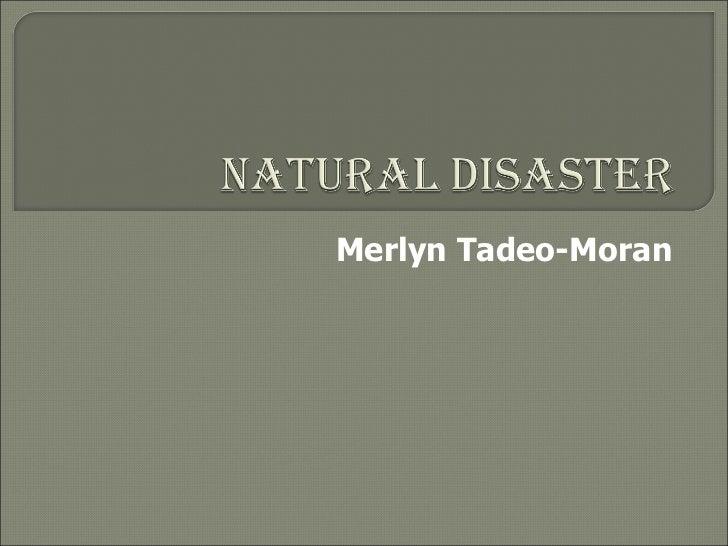 Merlyn Tadeo-Moran