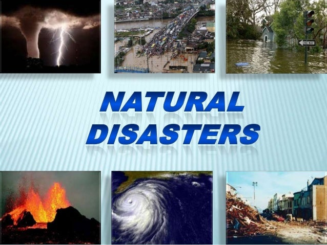 The World is always changing. Natural disasters are changes which are so great they may cause damage to the shape of the l...