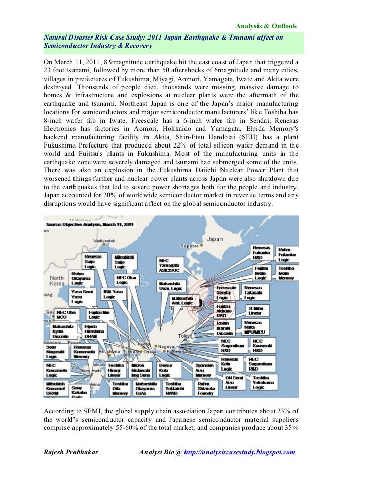 medc earthquake case study japan 2011