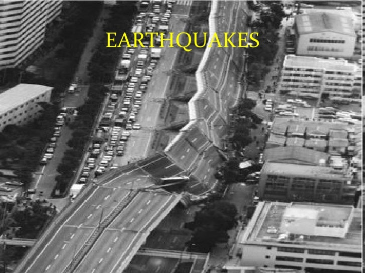 Natural disasters for Where do you go in an earthquake
