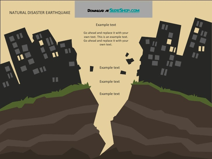 Natural disasters natural disaster earthquake example text go ahead and replace it with your own text toneelgroepblik Choice Image