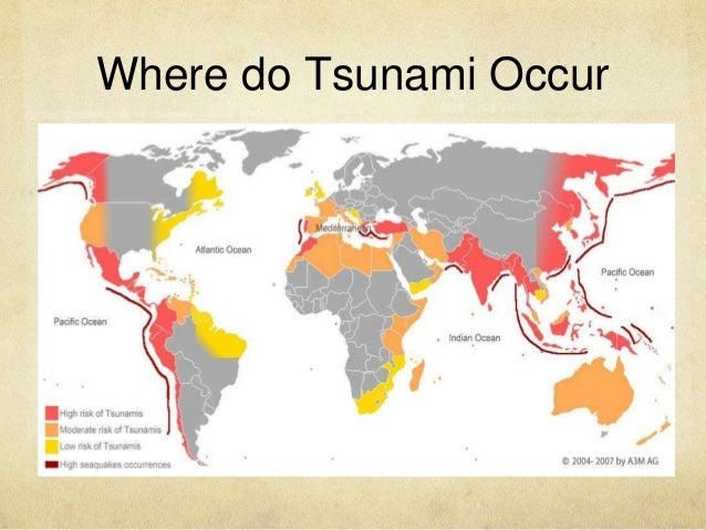 Natural Disasters Happen All Over The World