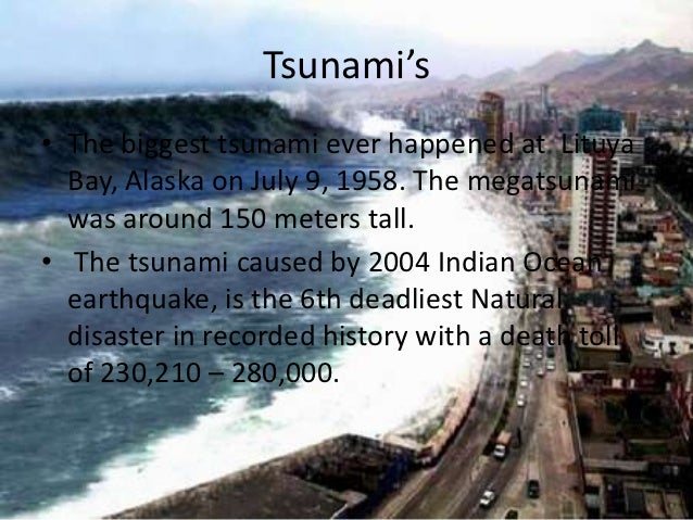 World S Biggest Natural Disasters