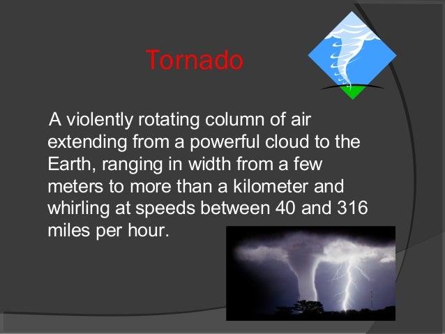 Natural Disaster Visibility