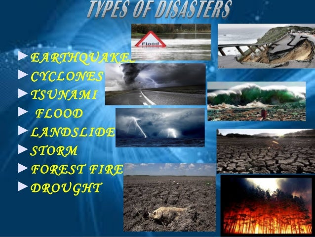 Ppt On Natural Disaster Earthquake