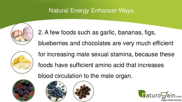 Natural Foods To Increase Male Stamina