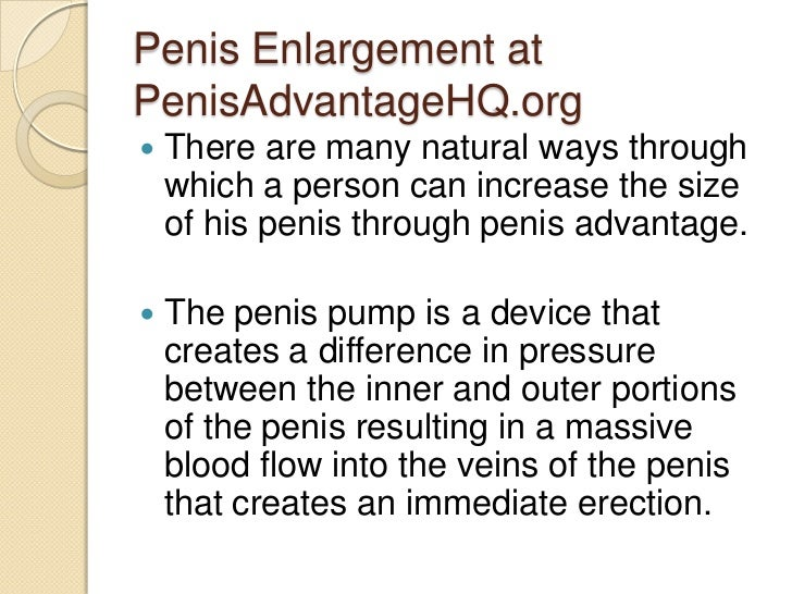 penis pump difference