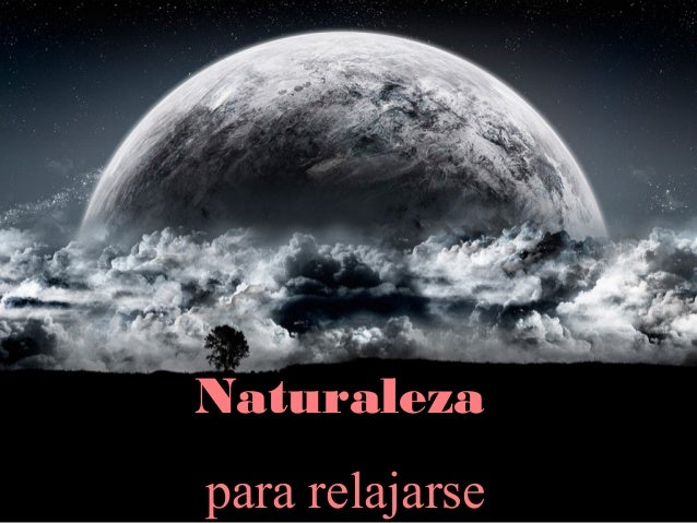 Naturaleza para relajarse