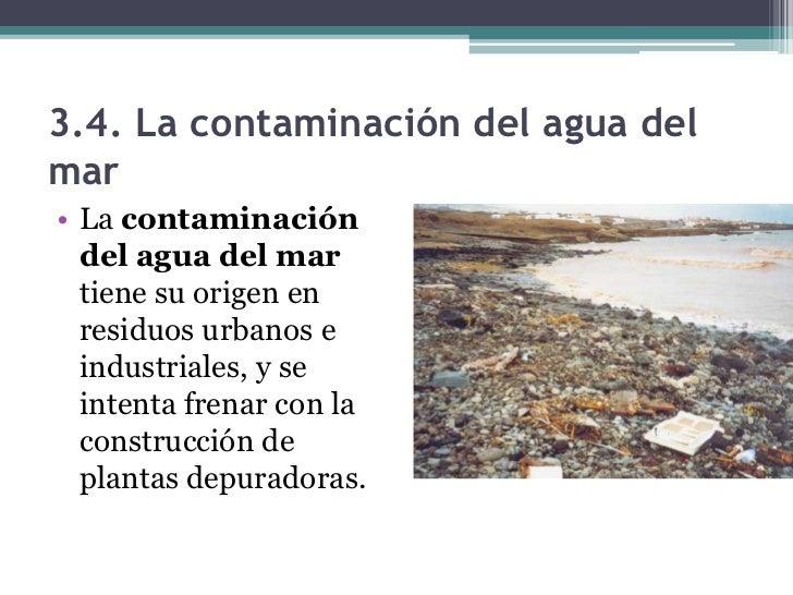 4.1. La contaminación atmosférica• La contaminación  atmosférica se debe al  modelo económico y  energético actual,  basad...