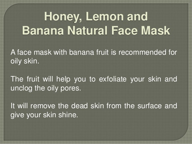 Natural Face Mask For Glowing Skin