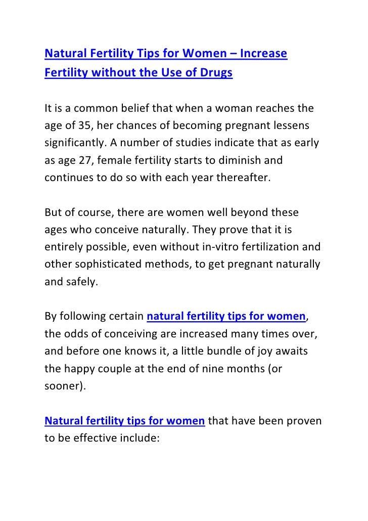 """HYPERLINK """"http://www.articlesbase.com/pregnancy-articles/natural-fertility-tips-for-women-increase-fertility-without-the..."""
