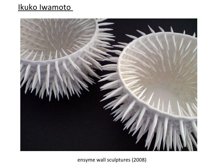 Ikuko Iwamoto          Silver sea urchin and white sea urchin          containers (2006)