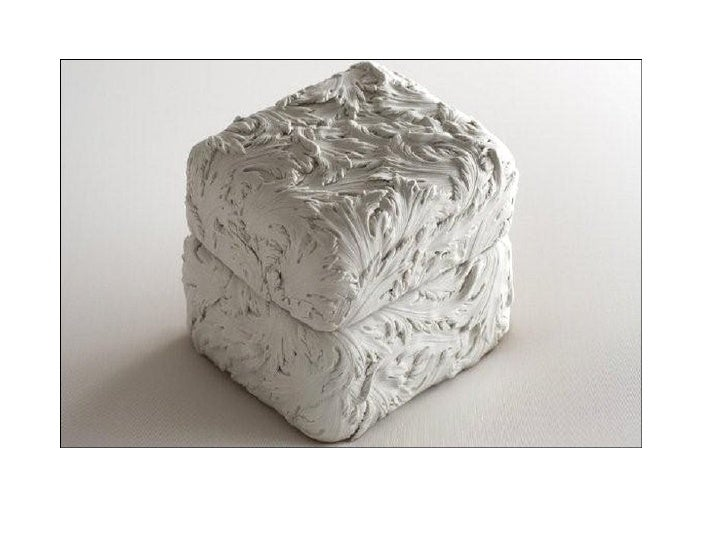 Andy Goldsworthy (1956 − )                      SWEET CHESTNUT LEAF HORN1987