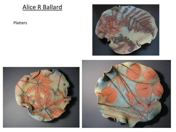 Alice R BallardPlatters