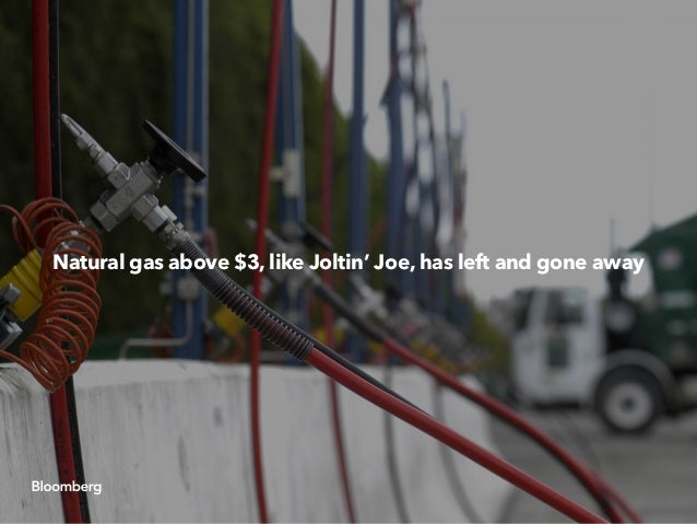 Natural gas above $3, like Joltin' Joe, has left and gone away
