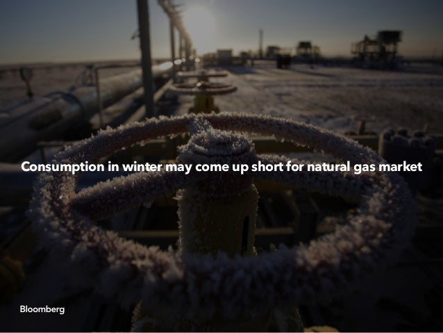 Consumption in winter may come up short for natural gas market