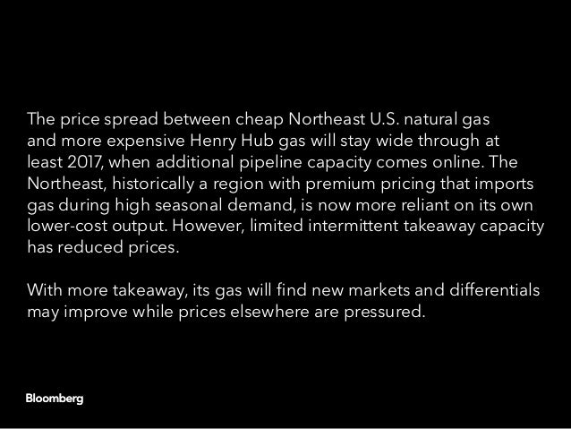 Northeast U.S. gas pipeline additions may affect regional prices