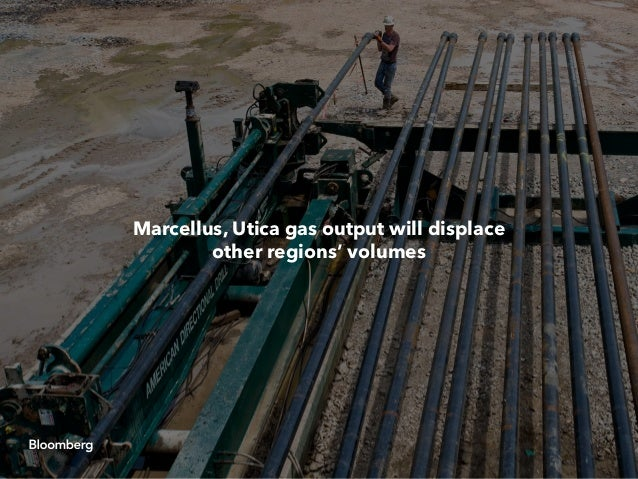 Marcellus, Utica gas output will displace other regions' volumes