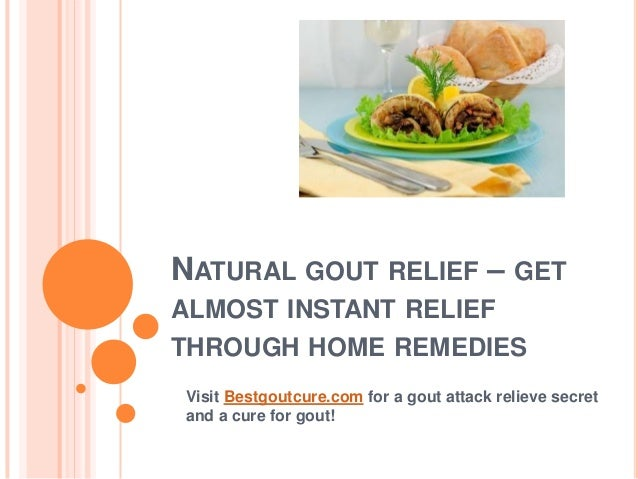 Natural Remedies For Gout Crystals
