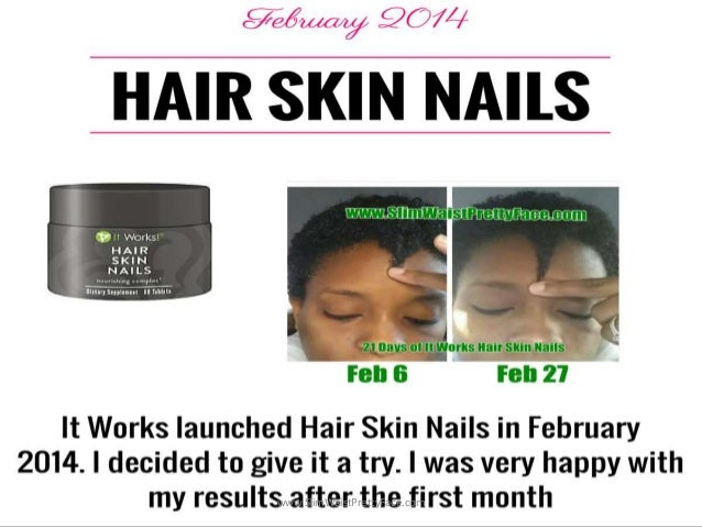 1 Year Natural Hair Journey It Works Skin Nails Review