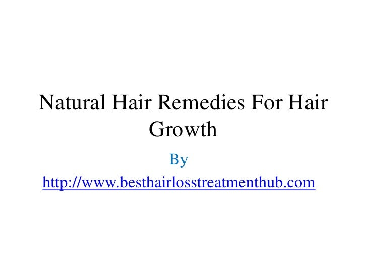Natural Hair Growth Remedies For Men