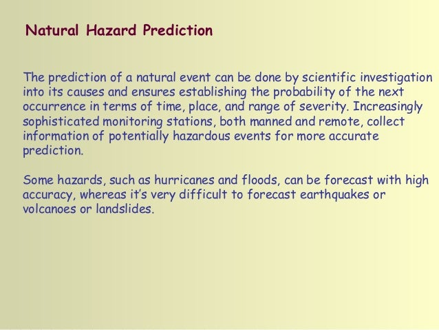 an analysis of the natural occurrence earthquake catastrophe event Every year brings new hurricanes, tornadoes, earthquakes, and other natural disasters to the world although some areas are impacted more often by these natural disasters than others, most people fear extreme weather scientists that study these natural disasters have been predicting major storms.