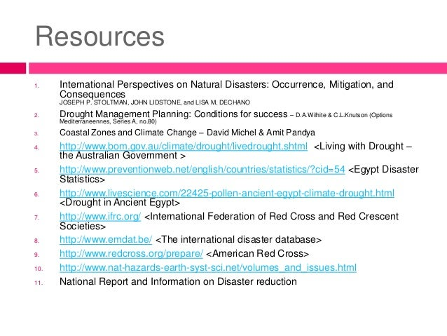Natural Hazards And Disasters In Egypt - Natural resources in egypt