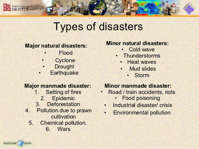 disaster control and also minimization essay