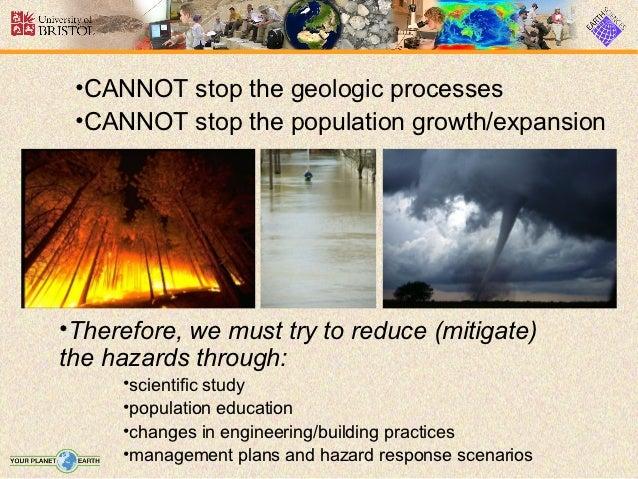 Geologic Hazards Vs Natural Disasters