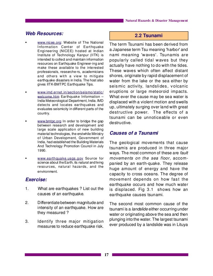 Pdf edition natural hazards and 3rd disasters