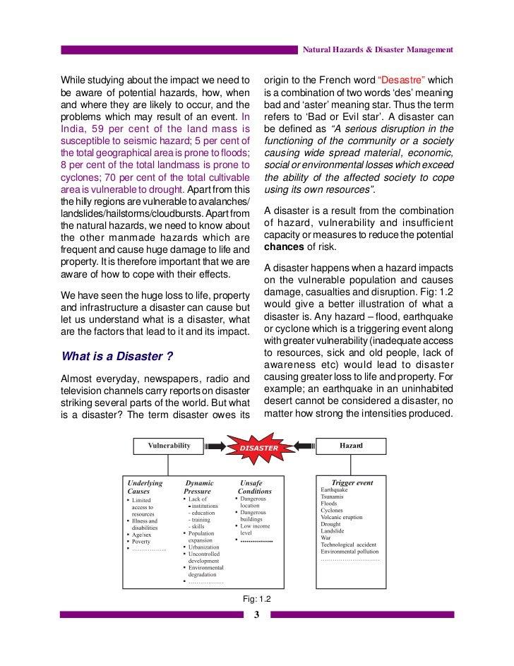 Disaster Management Class 9 Book