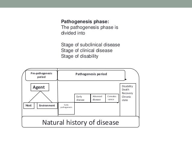 Natural History And Clinical Course Of Disease