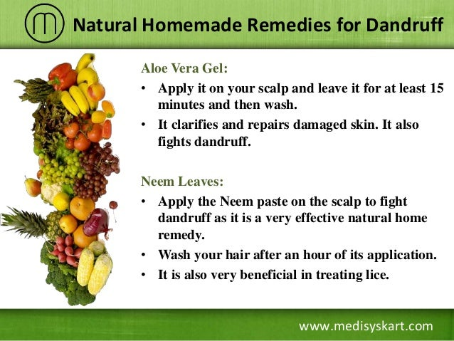 Home Remedies For Dandruff Neem