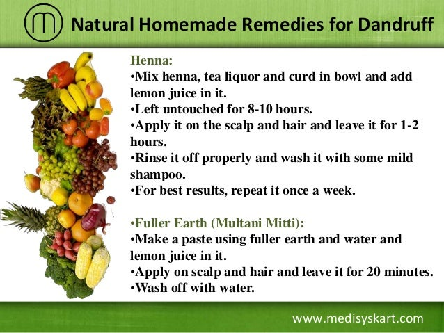 best natural remedy for dandruff
