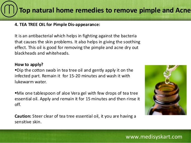 natural home remedies for pimples