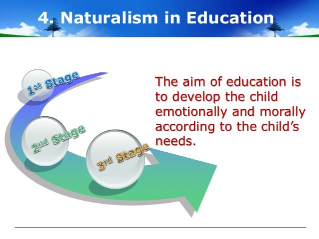 what is naturalism in education
