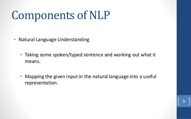 what is natural language processing pdf