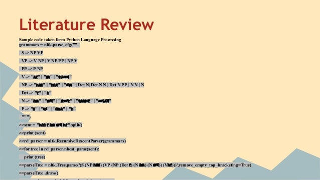 how to write a literature review qut