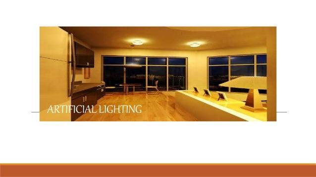 Natural Light And Artificial Lighting
