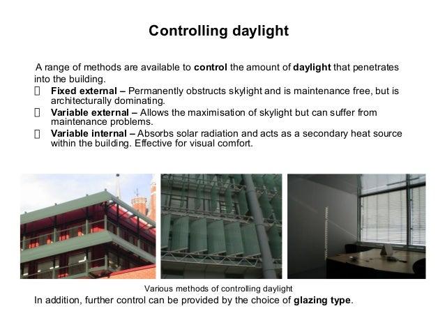 Natural light illumination for Interior design lighting principles