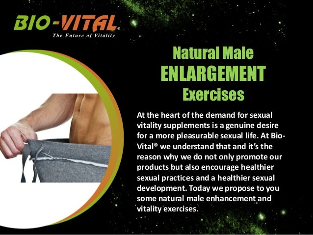 Natural Dick Enhancement
