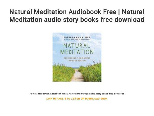 Cosmic ordering guided meditation audio books download free.