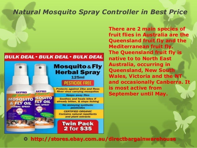 Natural mosquito spray controller in best price