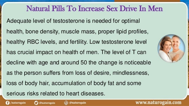 Increasing female sex drive after 50