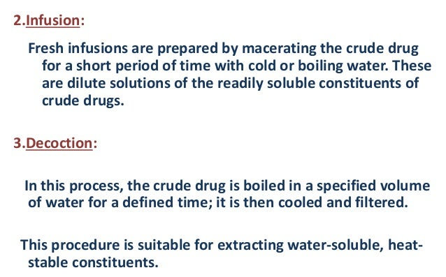 procedure for decoction In defense of decoction a purist's perspective on an age-old this explains the procedure of drawing the first decoctions as thick mashes in order.
